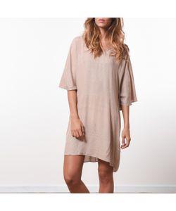 JOE RETRO   Платье Струящееся С Плиссировкой Сзади