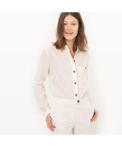 R essentiel | Рубашка Со Стоячим Воротником Лен