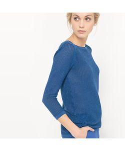 R essentiel | Пуловер Ажурный С Вырезом-Лодочка