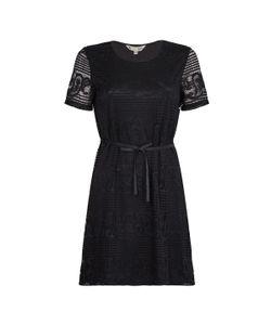Yumi | Платье С Круглым Вырезом И Короткими Рукавами