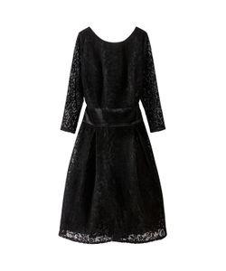 MADEMOISELLE R | Платье Однотонное Средней Длины Расширяющееся Книзу