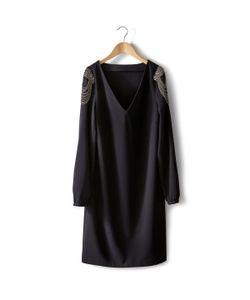 SOFT GREY | Платье С Декоративной Отделкой
