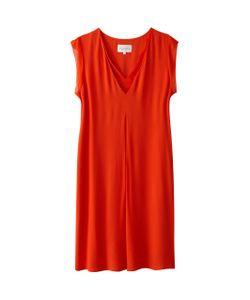 SUD EXPRESS | Платье Прямое С Короткими Рукавами С Воланами