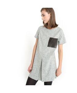 Gat Rimon | Платье Прямого Покроя Из Шерстяной Ткани С Крапчатым Рисунком Kinn