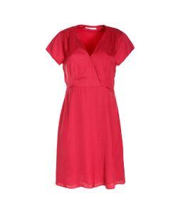 SCENARIO | Платье С Запахом Спереди И Короткими Рукавами