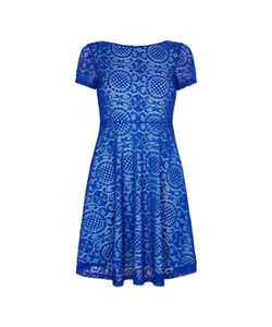 Yumi | Платье С Короткими Рукавами Из Кружева