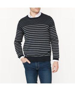 R édition | Пуловер В Полоску С Круглым Вырезом 100 Хлопок