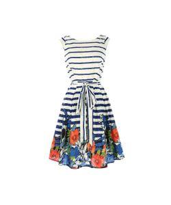 Rene Derhy | Платье В Полоску Из Цветов Без Рукавов