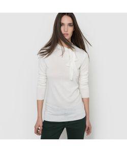 R essentiel | Пуловер С Завязками Из Смешанной Ткани С Шерстью