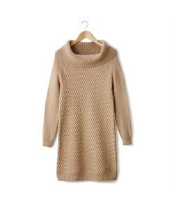 LAURA CLEMENT | Платье-Пуловер С Витым Узором