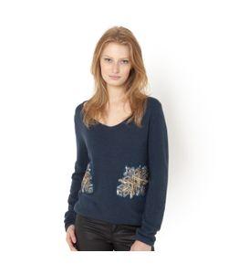 SOFT GREY | Пуловер С Украшением