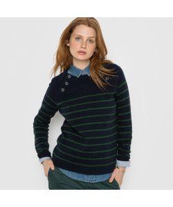 R essentiel | Пуловер В Полоску 50 Шерсти