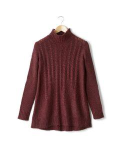 Мини-цена | Пуловер-Туника Из Трикотажа Джерси Крупной Вязки 100 Акрила