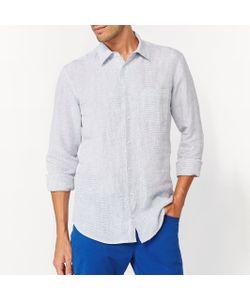 R essentiel   Рубашка Прямого Покроя С Длинными Рукавами 100 Лен