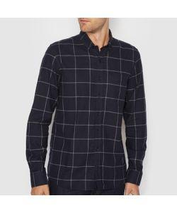 R essentiel | Рубашка Прямого Покроя С Длинными Рукавами 100 Хлопок