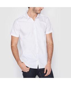 R édition | Рубашка Однотонная Прямого Покроя С Короткими Рукавами