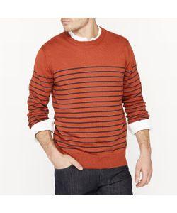 R essentiel | Пуловер В Полоску С Круглым Вырезом Из Смесовой Ткани Из Льна
