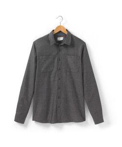 SOFT GREY | Рубашка Однотонная