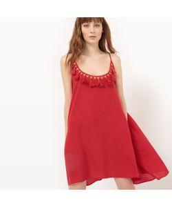 Molly Bracken | Платье С Тонкими Бретелями И Глубоким Вырезом С Помпонами