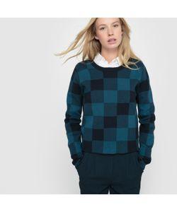 R essentiel | Пуловер Короткий В Клетку