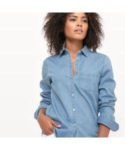 R essentiel | Рубашка Из Денима Прямого Покроя