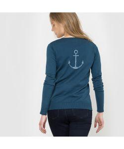 R édition | Пуловер С Круглым Вырезом И Разрезом Спереди
