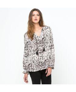 SOFT GREY | Блузка Из Струящегося Материала