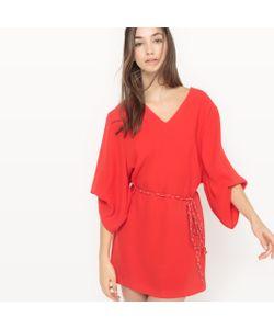Suncoo | Платье С Объемными Рукавами Coleen