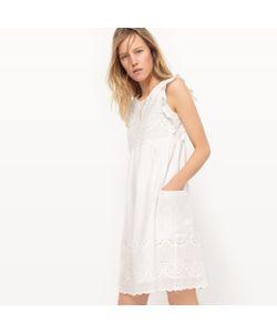 R studio | Платье До Колен С Английской Вышивкой