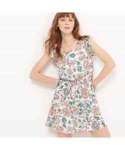 Molly Bracken | Платье С Короткими Рукавами И Цветочным Рисунком