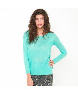 Color Block | Пуловер Из Тонкого Трикотажа