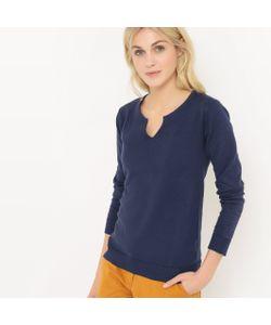 R édition | Пуловер С Тунисским Воротником Из Хлопка