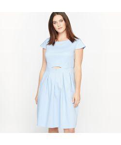 CASTALUNA | Платье Расклешенное С Короткими Рукавами