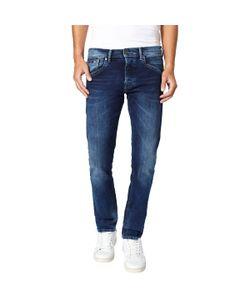 Pepe Jeans London | Джинсы Хлопковые 73 См Классического Прямого Покроя