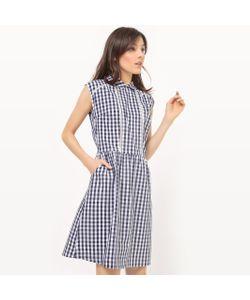 MADEMOISELLE R | Платье С Воротником И Принтом Виши