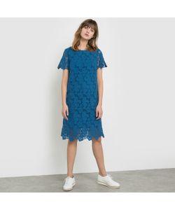 R studio | Платье Из Гипюра С Короткими Рукавами 100 Хлопка