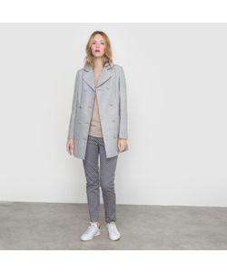 R édition | Пальто С Металлизированными Волокнами И Бантом Сзади