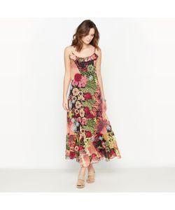 ANNE WEYBURN | Платье С Рисунком Из Вуали