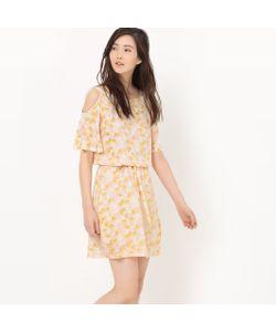 R édition | Платье Из Струящейся Ткани С Открытыми Плечами