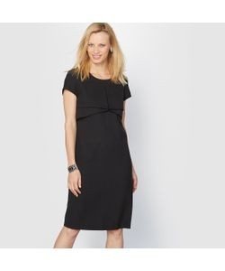 ANNE WEYBURN | Платье Из Крепа Драпированные Складки