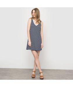 R essentiel | Платье Однотонное С V-Образным Вырезом