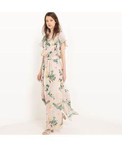 MADEMOISELLE R | Платье Длинное Однотонное С Короткими Рукавами