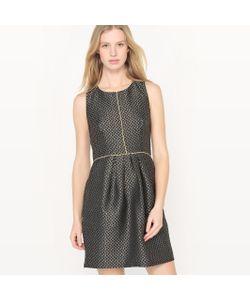 Molly Bracken | Платье Приталенное Из Блестящей Жаккардовой Ткани