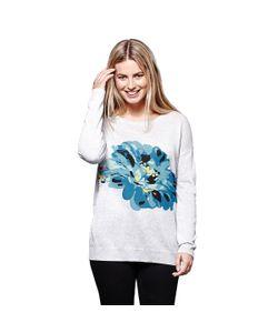 Yumi   Пуловер С Круглым Вырезом Из Тонкого Трикотажа