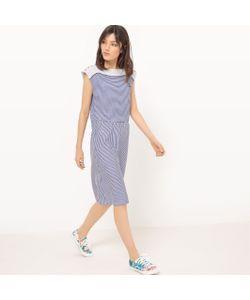 MADEMOISELLE R | Платье Из Трикотажа Вставка С Вышивкой