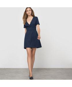 French Connection | Платье С Короткими Рукавами И V-Образным Вырезом Sundae Suiting