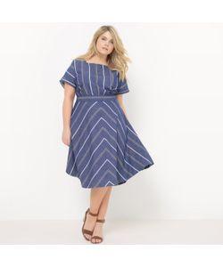 CASTALUNA | Платье Длинное До Середины Голени. Короткие Рукава