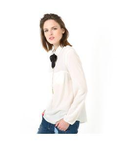 Мини-цена | Блузка С Отложным Воротником