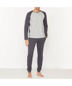 R essentiel | Двухцветная Пижама С Длинными Рукавами
