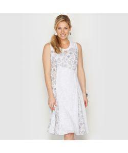 ANNE WEYBURN | Платье Из Двух Материалов